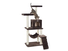 "GleePet 57"" Cat Tree Coffee Brown"