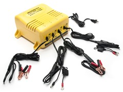 Quad Bank 4-Battery Charger