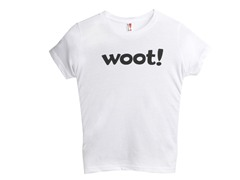 Woot! Kids' T-Shirt - White