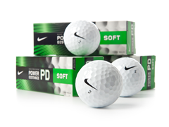 Nike Power Distance Soft Golf Ball 12-Pk