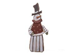 "20"" Wood Snowman"