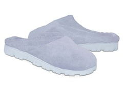 Women's Micro Chenille Clog, Blue