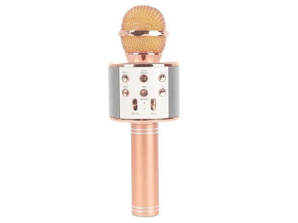 Image of Wireless Bt Karaoke Microphone W/ Multi-color Leds