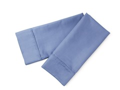 800TC Standard Pillowcase Set - Blue