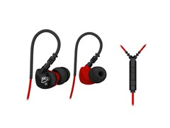 In-Ear Sport Headphones - Black/Red