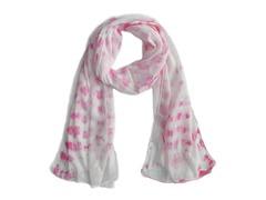 Tie Dye Wrap Pink & White