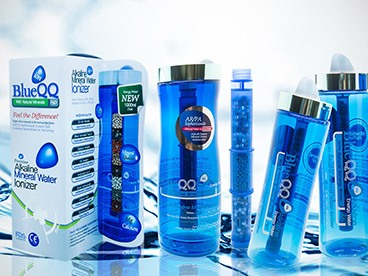 BlueQQ Alkaline Water Bottles