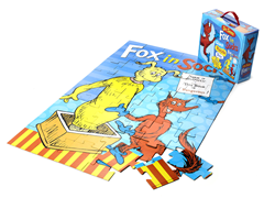 Fox in Socks 48-Piece Floor Puzzle