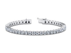 6CTTW Simulated Diamond Tennis Bracelet