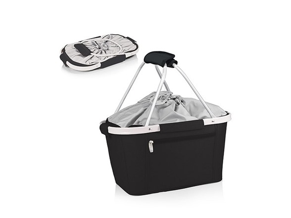 Picnic time metro basket collapsible tote - Collapsible waste basket ...