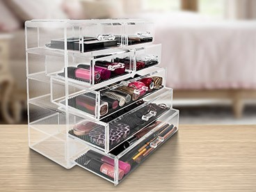 Sorbus Makeup Storage