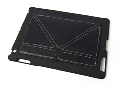Slim Shell for iPad 3/4 - Black/White