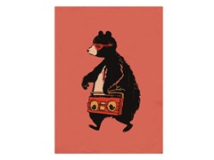 Budi Satria Kwan Boombox Bear- Multiple Sizes