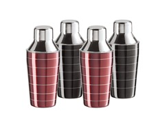 Oggi 4pc Mini Cocktail Shaker Set
