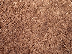 Brown Silky Shag Plain (2 Sizes)