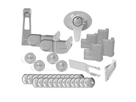 35-Pc Dreambaby Silver Home Safety Kit