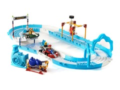 K'Nex Mario & Bowser Ice Race Set