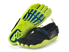 Men's EZ Slide Drainage - Black/Lime