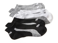 Women's Low Cut - White/Black/Grey (3pk)