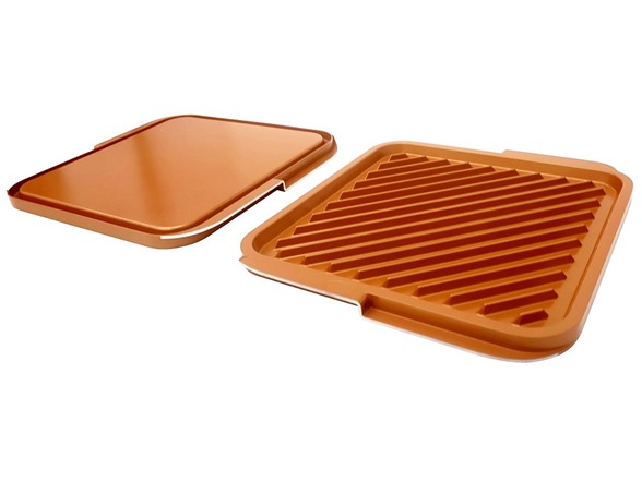 Non Stick Reversible Double Grill