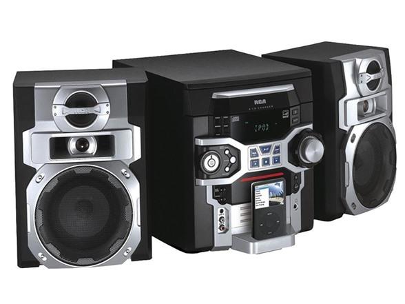 Rca 5 Cd Mini Stereo System W Ipod Dock