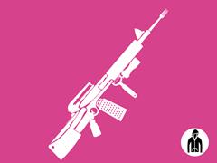 Kitchen Warfare Remix Jersey Zip Hoodie - Pink