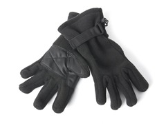 Fleece Gloves for Her - Black