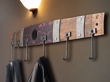 Wine Cask Creations Coat/Garden Rack