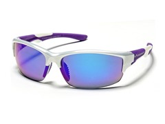 Half Frame Reflective - Purple/White