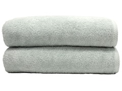 700GSM Soft Twist Bath Sheets-S/2-Aqua