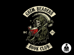 Grim Readers Book Club Zip Hoodie