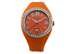 Men's BOX 40Z ORANGE Orange Dial Watch