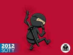 Shhhhhhh Zip Hoodie - Red