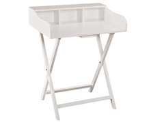 SEI Folding Craft/Student Desk - White