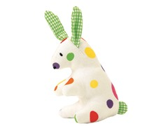 Mini Bunny Rattle - White