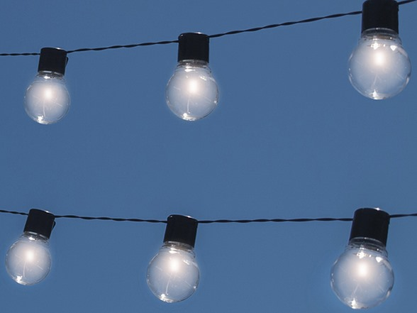 NITEBULB Solar Patio String Lights