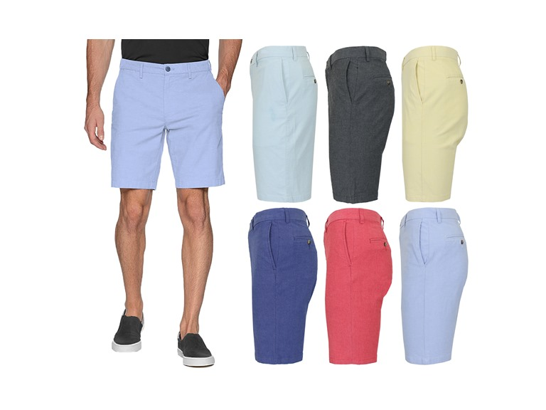 3PK Mens Oxford Chino Shorts