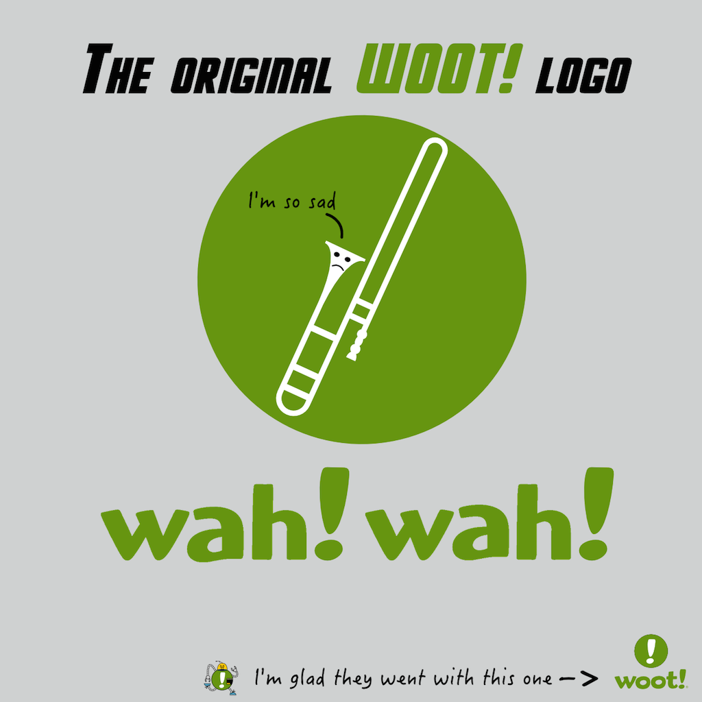 Original Woot! Logo