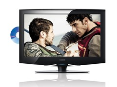 "Coby 19"" 720p LED HDTV w/ DVD Player"
