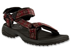 Men's Terra Fi Lite Sandals - Sine Red Ochre