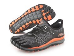 Fila Skele-Toes - Grey/Orange (12)