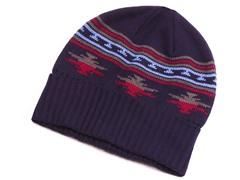 MUK LUKS® Cap with Fleece Lining, Blue