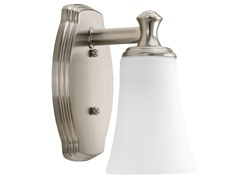 Bathroom Sconce, Brushed Nickel