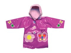 Butterfly Raincoat (2T-6X)
