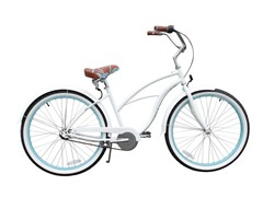 Women's BE 3-Speed, White/Blue