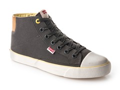 Levi's Louisiana High Tops, Dark Grey