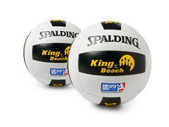 Spalding US Open Replica Volleyball 2-pk