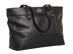 Fossil Hunter Shopper Tote, Black