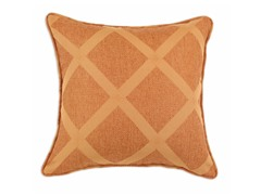 Classic Malibu Diamond Rust 17X17 Pillow