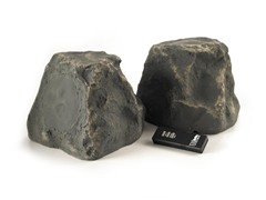 "5"" Wireless Indoor/Outdoor Rock Speakers"